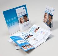 Porte leaflet, chevalet, leaflet