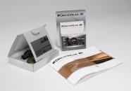 Boîte + image Polarisante + UV torche + monture lunette + Porte leaflet + brochure