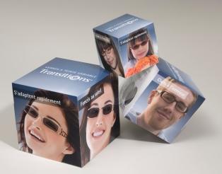 Kit 3 cubes